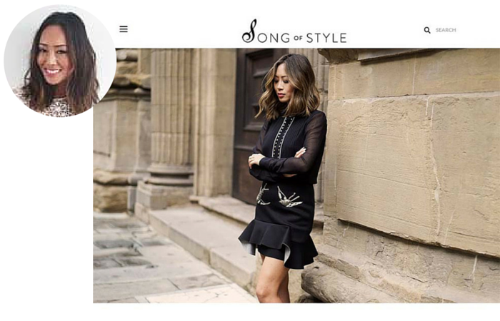 Fashion Blogger-Song of Style