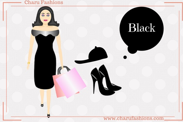 Black Color Women Clothing