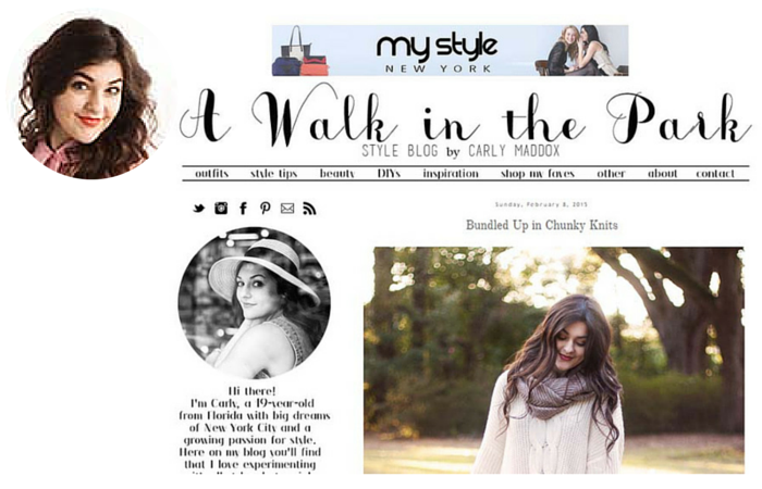 Fashion Blogger- A Walk in the Park