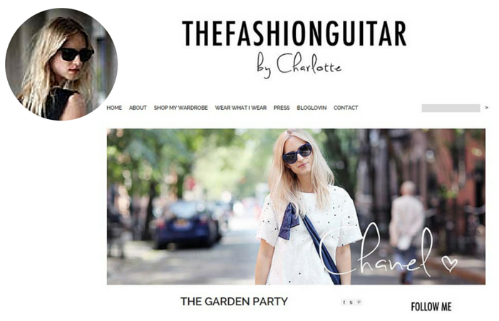 Fashion Blogger-The Fashion Guitar