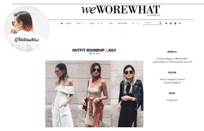 Fashion Blogger-We Wore What