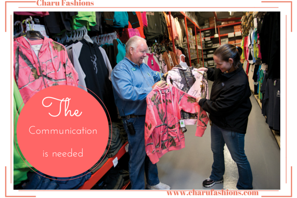 Good Communication with Customers | Charu Fashions