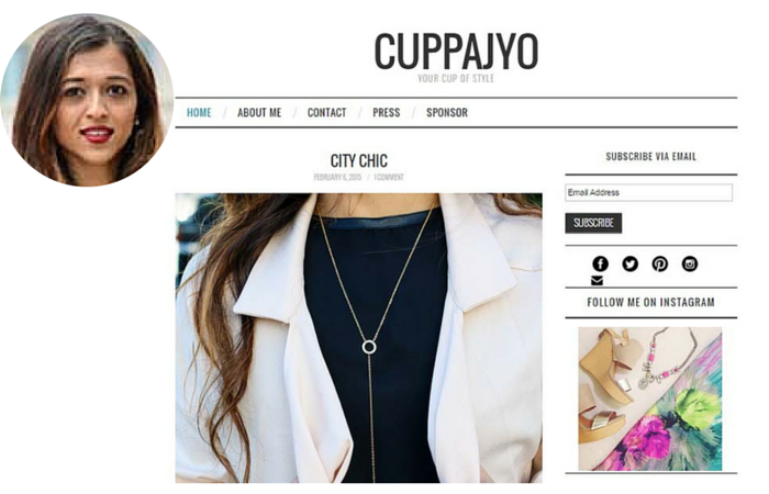 Fashion Blogger-Cuppajyo