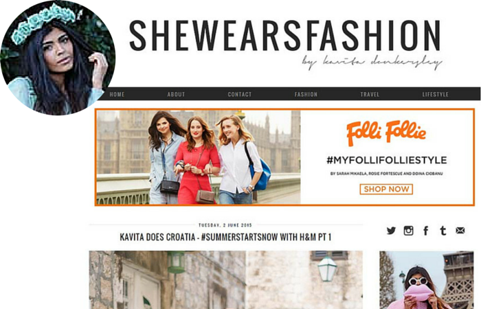 Fashion Blogger-She wears fashion