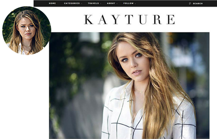 Fashion Blogger-Kayture