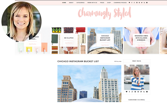 Fashion Blogger-Charmingly Styled