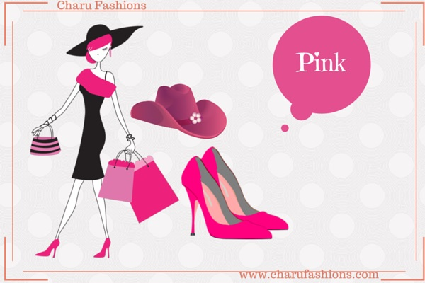 Pink Color Women Clothing