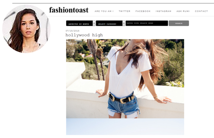 Fashion Blogger-The Fashion Toast