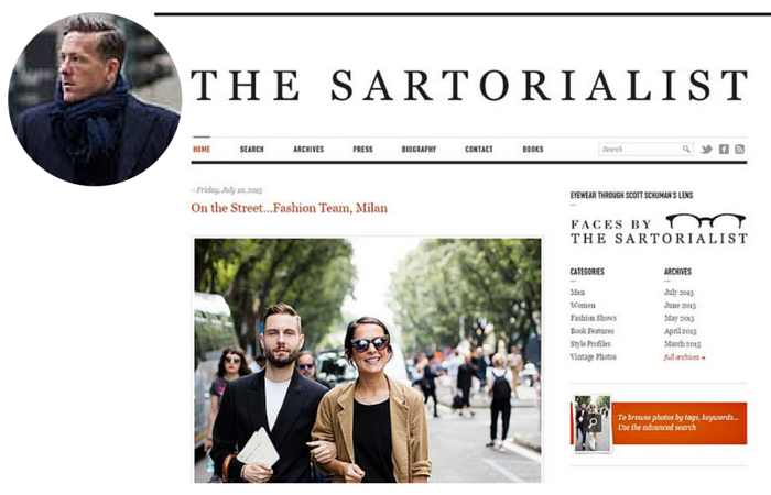 Fashion Blogger-The Sartorialist