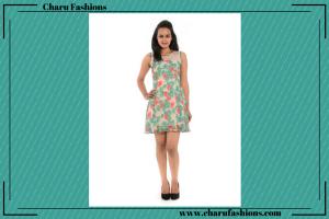 Floral Printed dresses | Charu Fashions