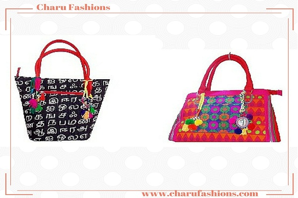 Colorful Handbags | Charu Fashions