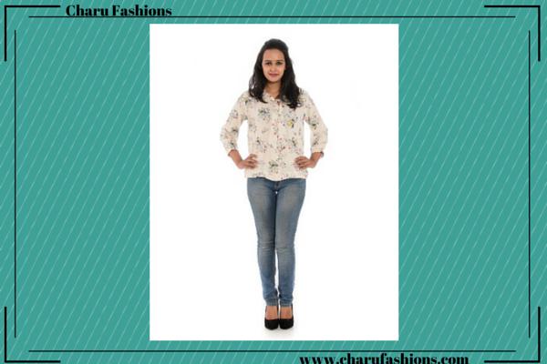 Floral Printed Shirts | Charu Fashions