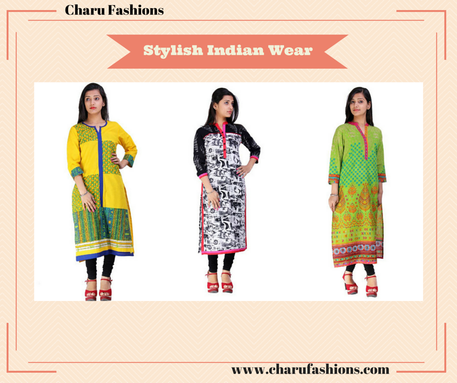 Stylish Indian Wear | Charu Fashions