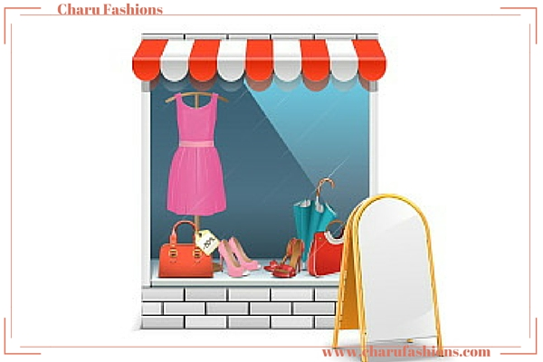 Effective Display of your boutique window | Charu Fashions