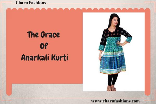 Anarkali Kurtis | Charu Fashions