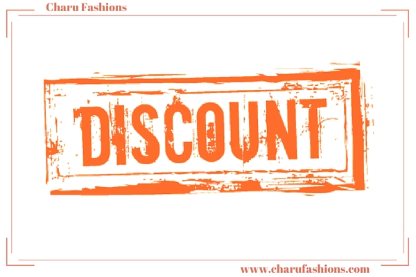 Provide discount on boutique products | Charu Fashions