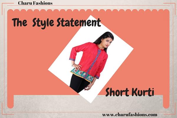 Short Kurtis | Charu Fashions
