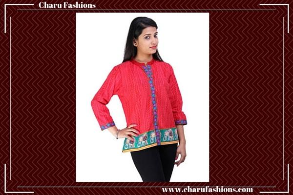 Short women kurti | Charu Fashions
