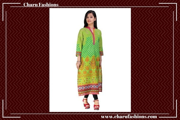 Long Women Kurti | Charu Fashions