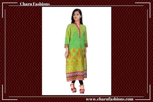 Long Women Kurti | Charu Fashions