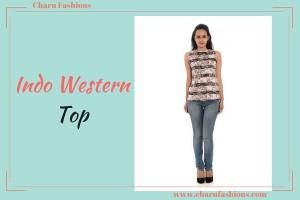Indo western top |Charu Fashions