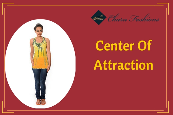 Yellow WomenTop | Charu Fashions