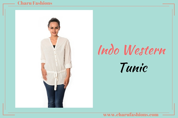 indo western tunic | Charu Fashions