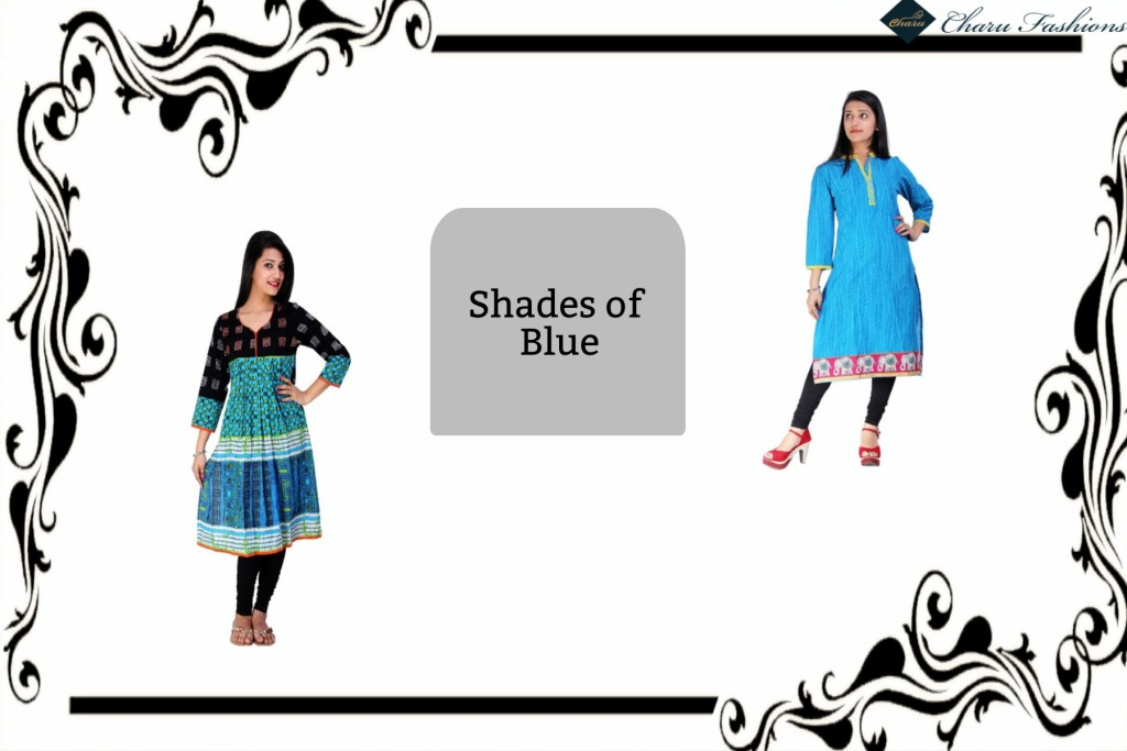 Shades of Blue | Charu Fashions