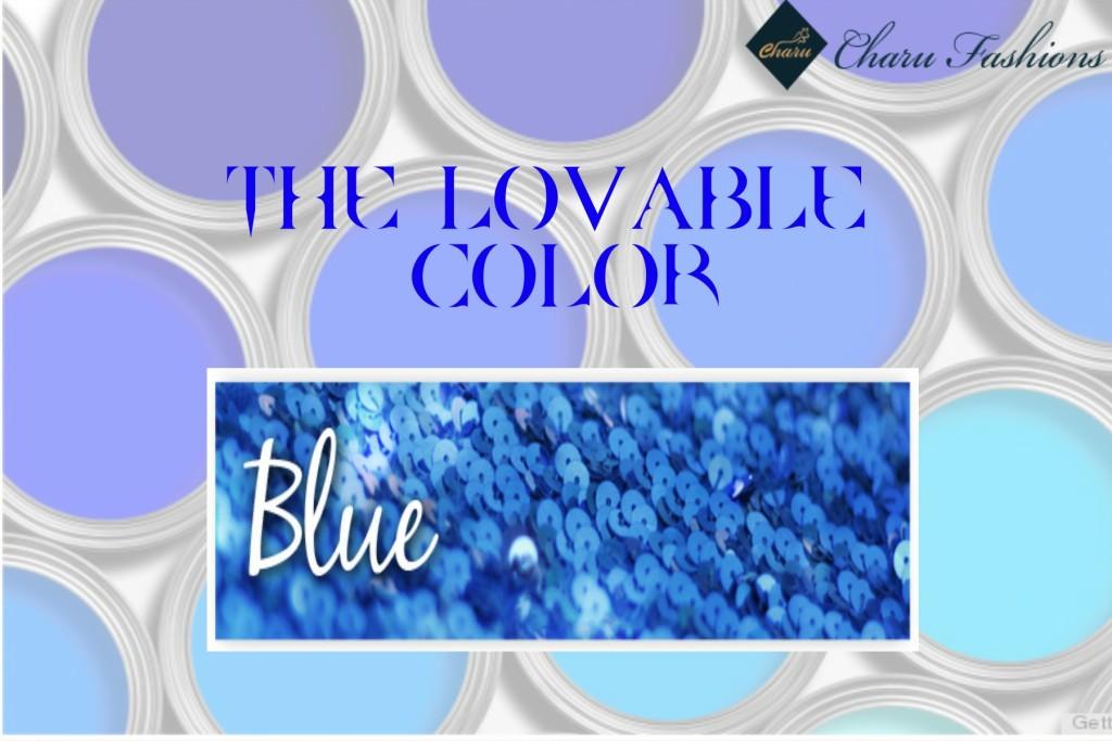 The Color Blue | Charu Fashions