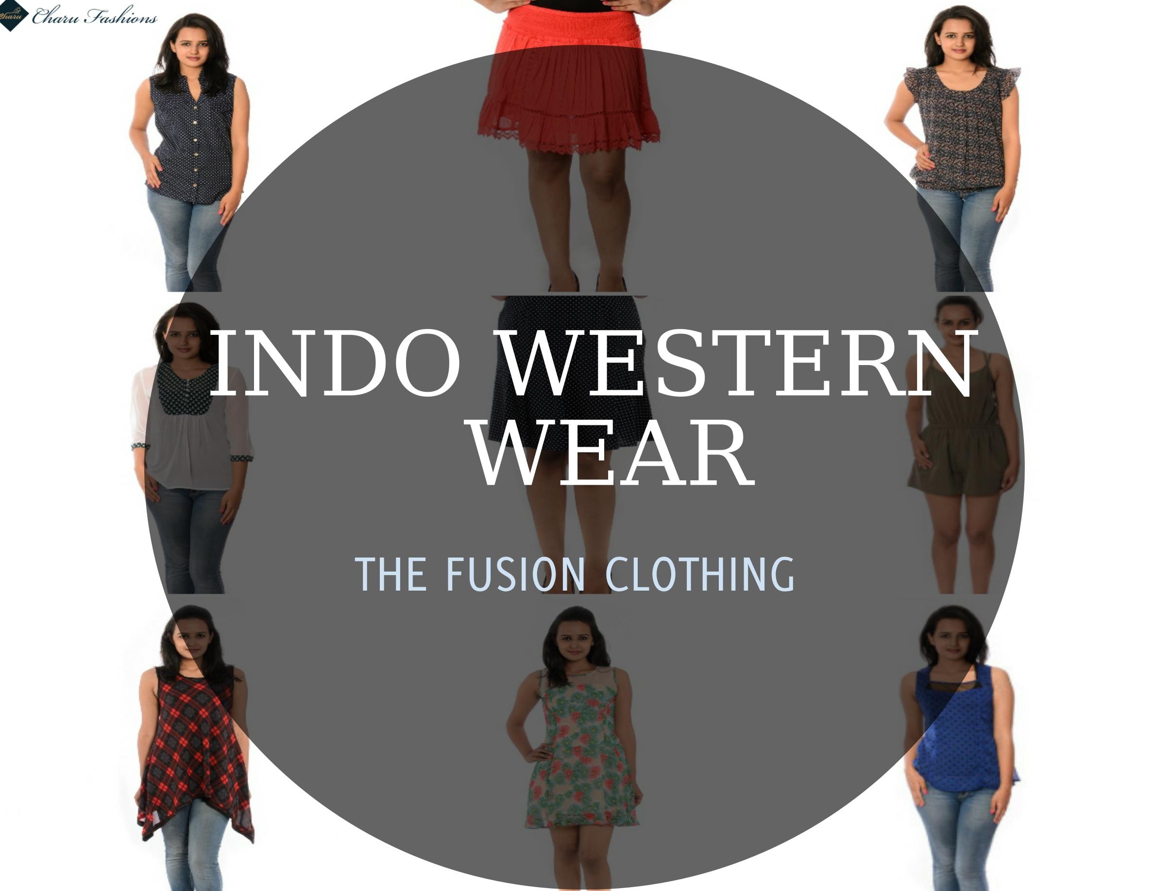 Indo Western Wear For Women Fashion| Charu Fashions