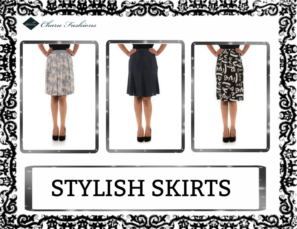 Women Skirts | Charu Fashions