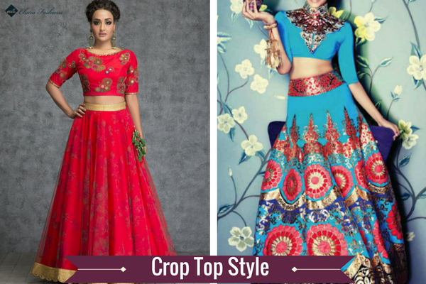Crop Top | Charu Fashions