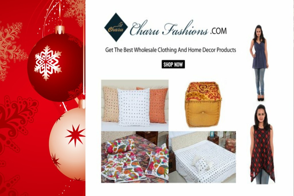 Christmas Wholesale Shopping | Charu Fashions