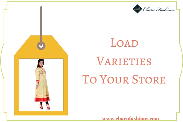 varieties of clothing | Charu Fashions