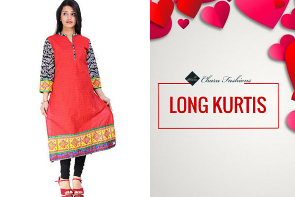 LONG KURTIS | Charu Fashions