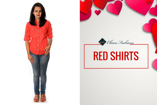 RED SHIRTS |Charu Fashions