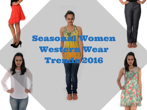 Seasonal Women Western Wear Trends2016- Charu Fashions