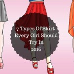 7 Types Of Skirt Every Girl ShouldWear In 2016 - Charu Fashions