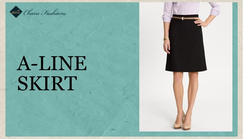 A- Line Skirt - Charu Fashions
