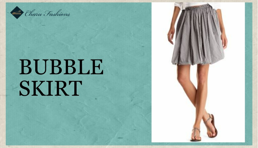 Bubble Skirt - Charu Fashions