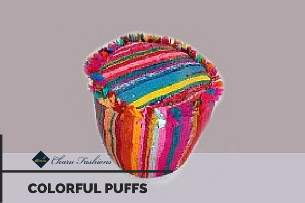 Colorful Puffs | Charu Fashions