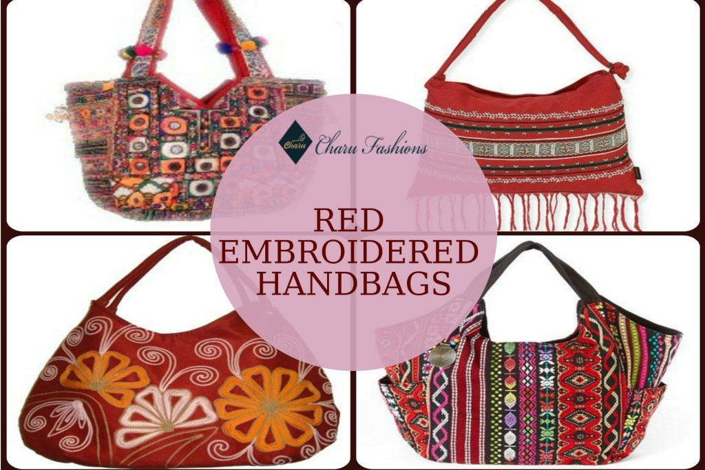 Embroidered Handbags | Charu Fashions