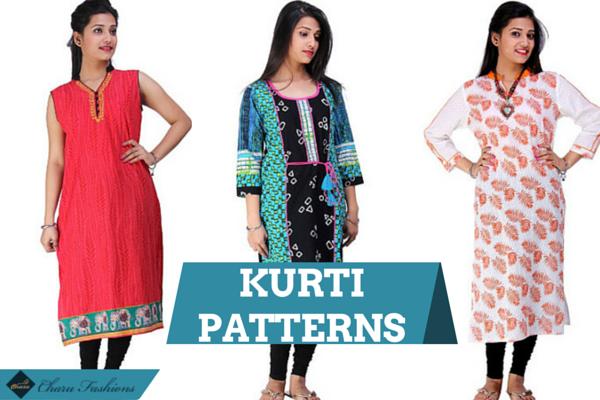 Kurti Patterns | Charu Fashions