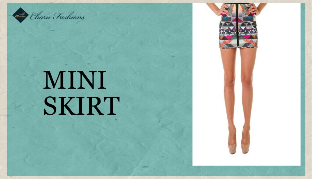 Mini Skirt - Charu Fashions