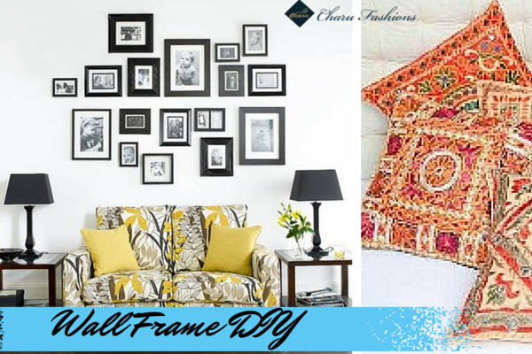 Wall frame diy | Charu Fashions