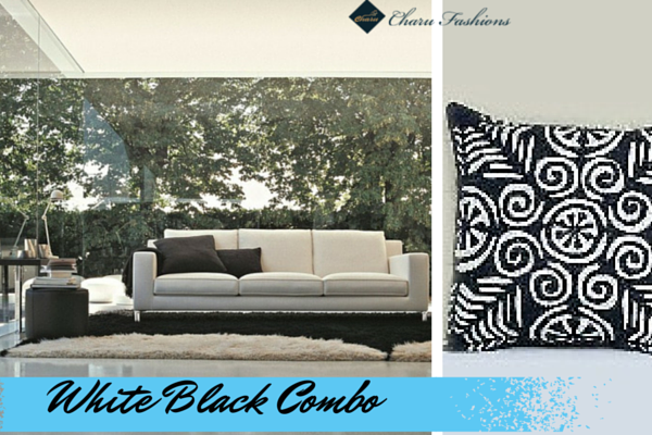 White black Combo   Charu Fashions