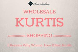 Reason For Shopping Kurtis - Charu Fashions