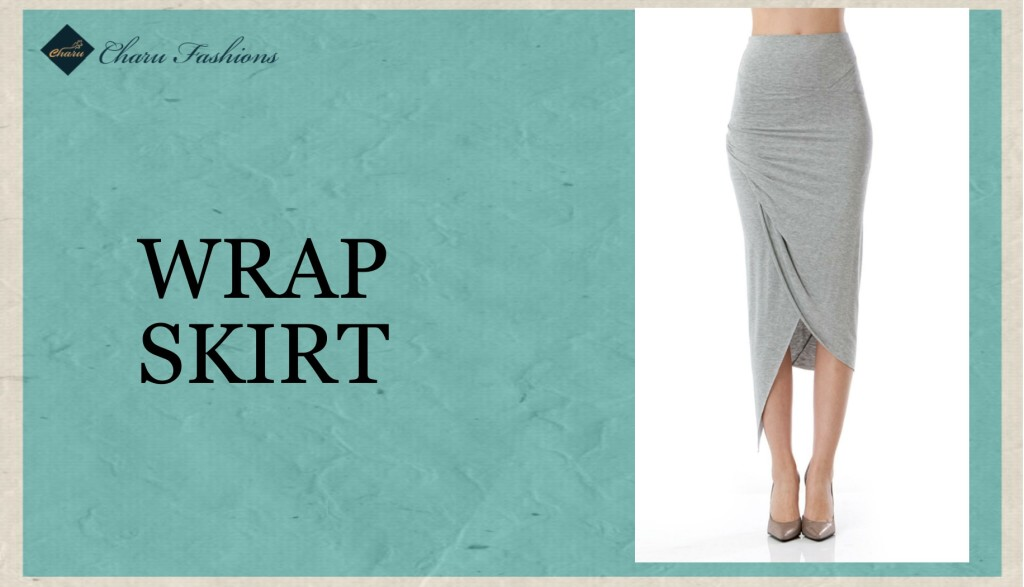 Wrap Skirt- Charu Fashions