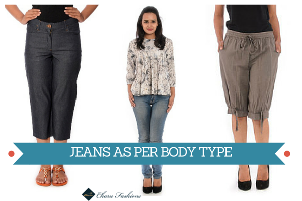 Body type Jeans | Charu Fashions