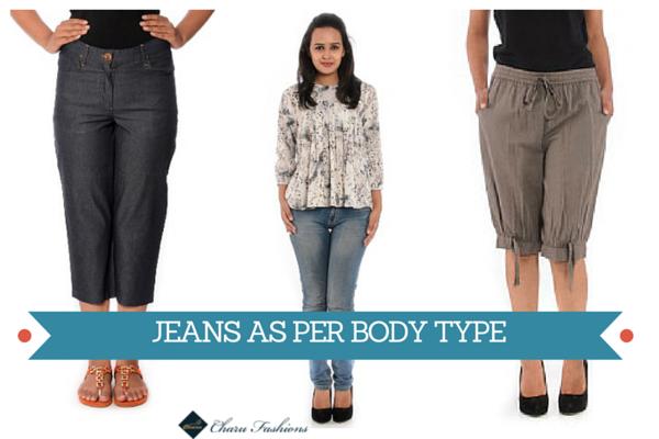 Body type Jeans | Charu Fashions